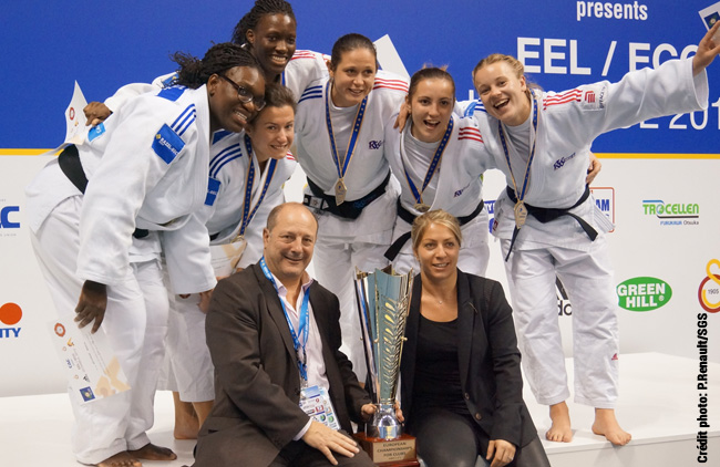 Coupe d'Europe des clubs de judo 2012 : Champigny en Or