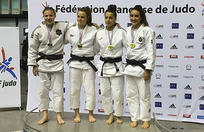 France juniors, L'OM judo en t�te